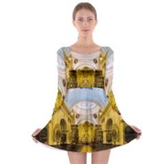 Church The Worship Quito Ecuador Long Sleeve Skater Dress