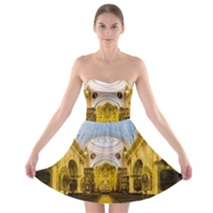 Church The Worship Quito Ecuador Strapless Bra Top Dress