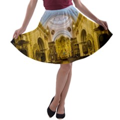 Church The Worship Quito Ecuador A-line Skater Skirt