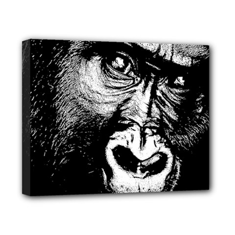 Gorilla Canvas 10  x 8
