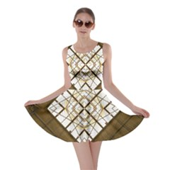 Steel Glass Roof Architecture Skater Dress