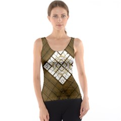 Steel Glass Roof Architecture Tank Top