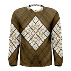 Steel Glass Roof Architecture Men s Long Sleeve Tee