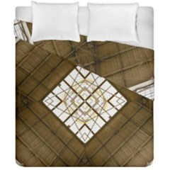 Steel Glass Roof Architecture Duvet Cover Double Side (california King Size)