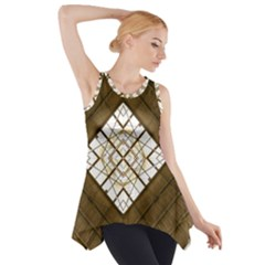 Steel Glass Roof Architecture Side Drop Tank Tunic