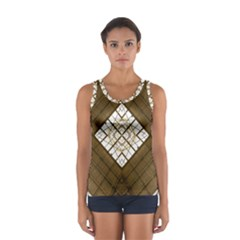 Steel Glass Roof Architecture Women s Sport Tank Top