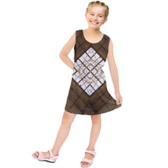Steel Glass Roof Architecture Kids  Tunic Dress
