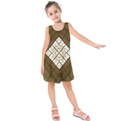 Steel Glass Roof Architecture Kids  Sleeveless Dress