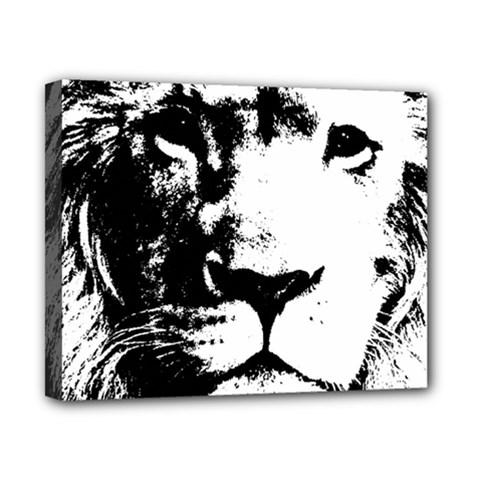 Lion  Canvas 10  x 8