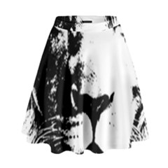 Lion  High Waist Skirt