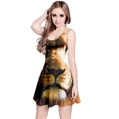 Lion  Reversible Sleeveless Dress