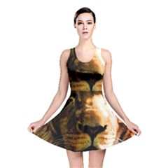 Lion  Reversible Skater Dress