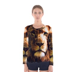 Lion  Women s Long Sleeve Tee