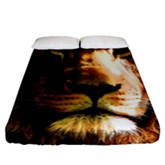 Lion  Fitted Sheet (Queen Size)