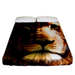Lion  Fitted Sheet (California King Size)