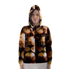 Lion  Hooded Wind Breaker (Women)