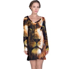 Lion  Long Sleeve Nightdress
