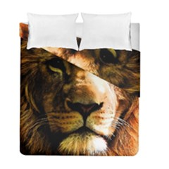 Lion  Duvet Cover Double Side (Full/ Double Size)