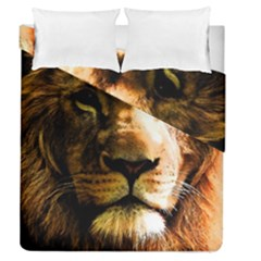 Lion  Duvet Cover Double Side (Queen Size)