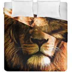 Lion  Duvet Cover Double Side (King Size)