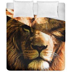 Lion  Duvet Cover Double Side (California King Size)