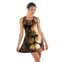 Lion  Cotton Racerback Dress