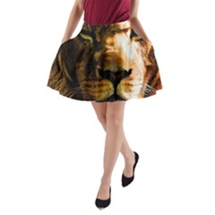 Lion  A-Line Pocket Skirt