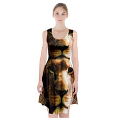 Lion  Racerback Midi Dress