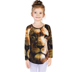 Lion  Kids  Long Sleeve Tee