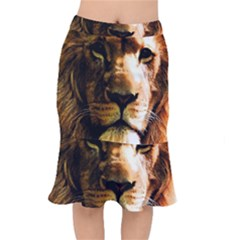 Lion  Mermaid Skirt