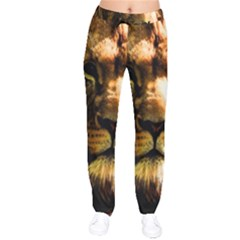 Lion  Drawstring Pants
