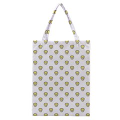 Angry Emoji Graphic Pattern Classic Tote Bag