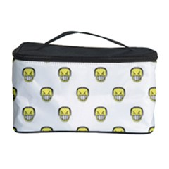 Angry Emoji Graphic Pattern Cosmetic Storage Case