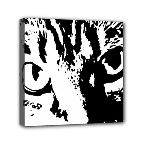 Cat Mini Canvas 6  x 6