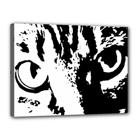 Cat Canvas 16  x 12
