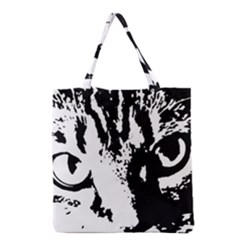 Cat Grocery Tote Bag