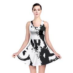 Cat Reversible Skater Dress