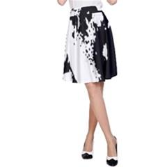 Cat A-Line Skirt
