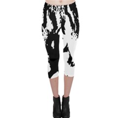 Cat Capri Leggings