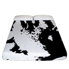 Cat Fitted Sheet (King Size)