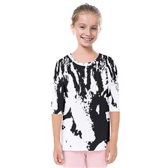 Cat Kids  Quarter Sleeve Raglan Tee