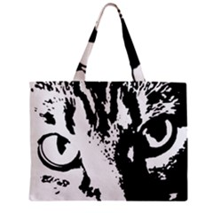 Cat Zipper Mini Tote Bag