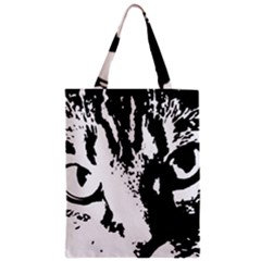 Cat Zipper Classic Tote Bag