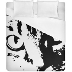 Cat Duvet Cover (California King Size)