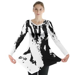 Cat Long Sleeve Tunic