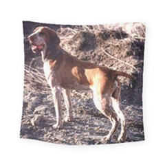 Bracco Italiano Full 2 Square Tapestry (Small)