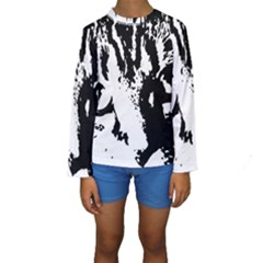 Lion  Kids  Long Sleeve Swimwear