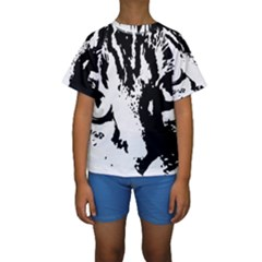 Lion  Kids  Short Sleeve Swimwear