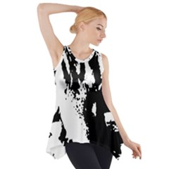 Lion  Side Drop Tank Tunic