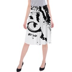 Lion  Midi Beach Skirt